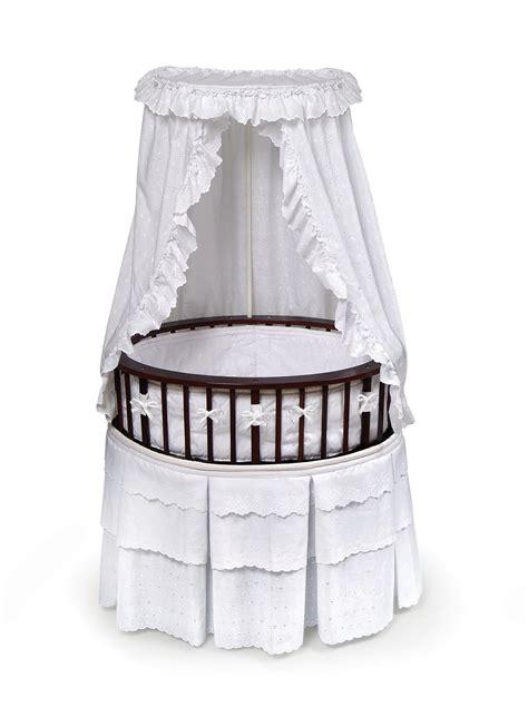 oval bassinet mattress badger basket elite oval baby bassinet by oj commerce 124