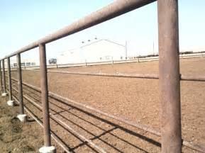 Oil Field Pipe Fence