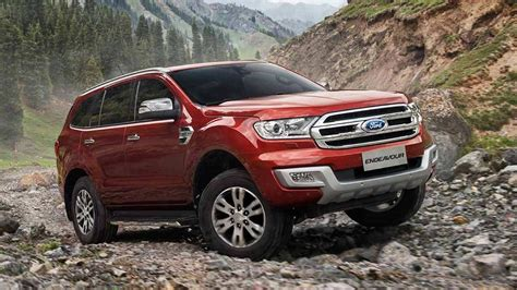 Ford Endeavour India Price