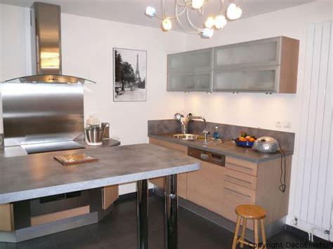 transformer garage en cuisine déco cuisine chene clair