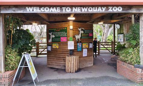 zoo newquay entrance cornwall