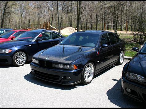 Vis Racing Carbon Fiber Oem Style Hood Bmw E39 9703