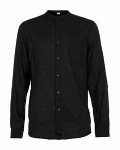 Nana judy Black Linen Shirt in Black for Men | Lyst
