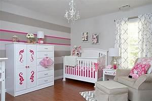 Mädchen Zimmer Baby : babyzimmer einrichten 50 s e ideen f r m dchen ~ Markanthonyermac.com Haus und Dekorationen