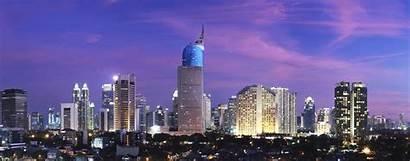 Indonesia Infrastructure Jakarta Night Urban Gtr Global