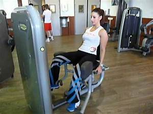 Exercice de musculation adducteurs machine YouTube