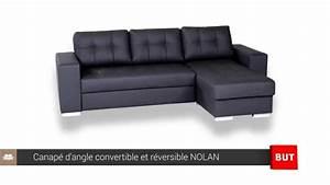 Canape D39angle Convertible Et Rversible NOLAN BUT YouTube
