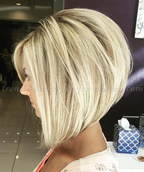 bob haircut   A line bob hairstyle   trendy hairstyles for