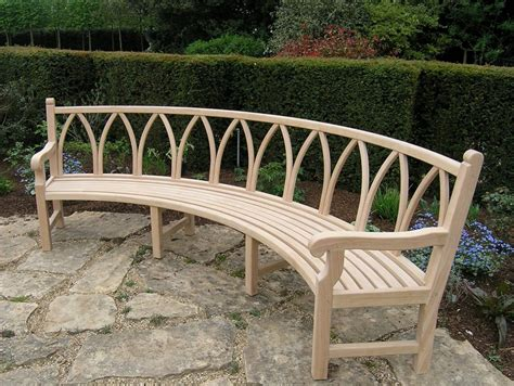 cool curved garden benches cool curved garden benches