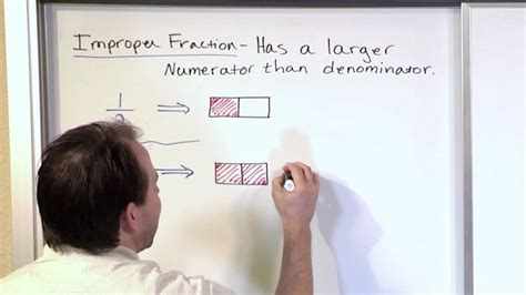 review  improper fractions  grade math youtube