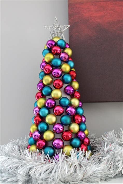 simply modern mom 187 christmas ornament tree tutorial