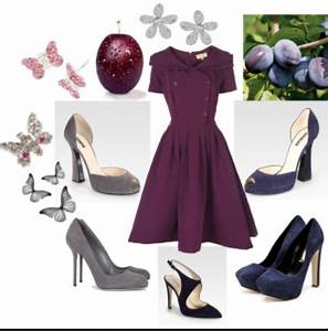 What Color Shoes Go With A Plum Colored Dress - Style Guru ...