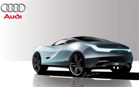 Futuristic Audi Concept Car Designs