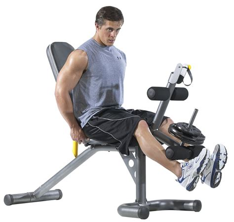 bench for working out gold s olympic workout bench w squat rack only 139