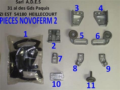 pieces detachees de porte sectionnelle novoferm