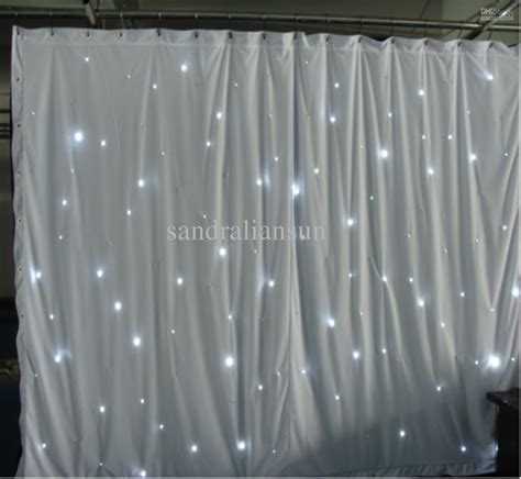 X Remaster Light Curtain by Top Quality 8x3m Smd5050 White Led Curtain Lights Backdrop