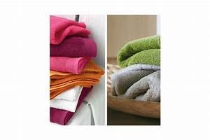 Linge De Toilette Ikea : linge de toilette et peignoir uni par blanc des vosges ~ Teatrodelosmanantiales.com Idées de Décoration