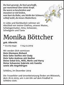 Super Sonntag Wittenberg : traueranzeigen von monika b ttcher ~ Watch28wear.com Haus und Dekorationen