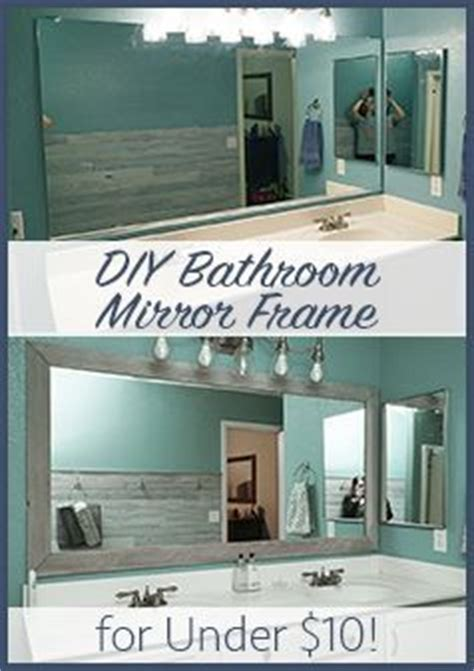 How To Make A Frame For A Bathroom Mirror by 25 Best Ideas About Blue Wood Stain On