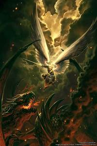 consider moon: Dragon-slaying archangels: Totally Epic