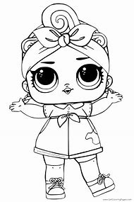 Best Lol Dolls Coloring Pages Ideas And Images On Bing Find What - Dolls-coloring-pages
