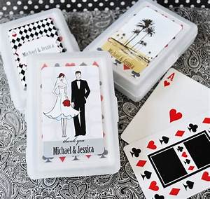 game wedding favors playing cards With playing card wedding favors