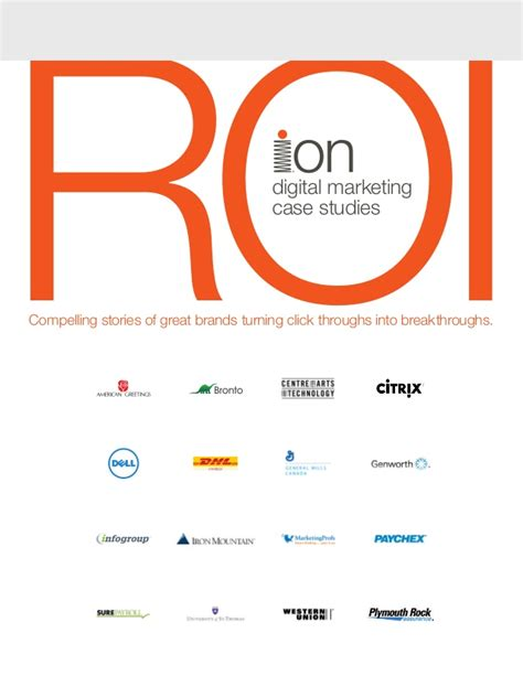 study digital marketing roi digital marketing study