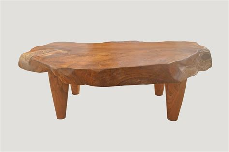 z gallerie mammoth sofa for sale teak wood coffee table 48 quot solid teak wood rustic