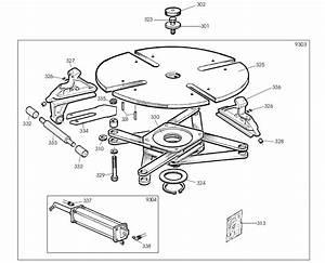 Parts Diagram For Corghi A9820ti