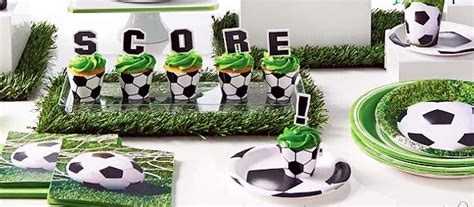 soccer party supplies  boys birthday party themes  mtrade