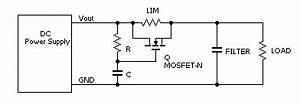 power supply prevent overcurrent while filter capacitor With charging capacitor bank with current limiting circuit electrical