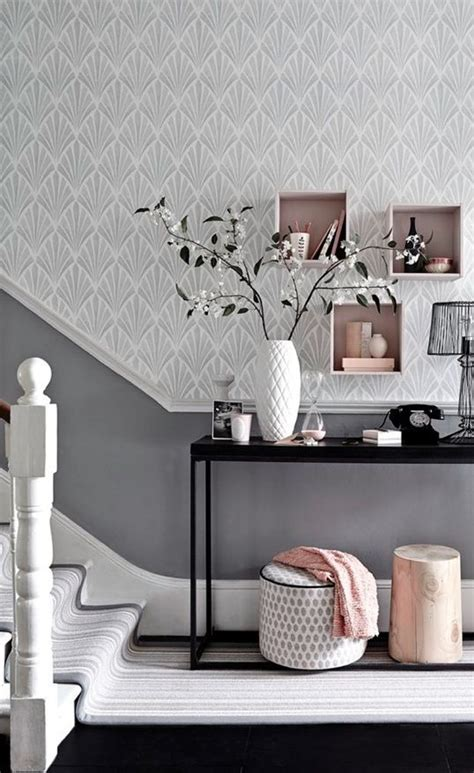 metallic grey  pink  trendy home decor ideas digsdigs