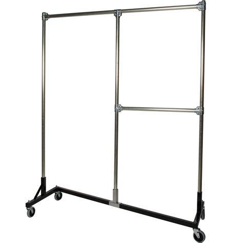 heavy duty clothes rack heavy duty garment rack split rail in clothing racks and