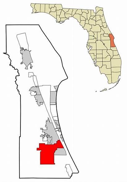 Palm Florida Bay Wikipedia County Brevard Svg