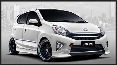 Modifikasi Mobil Toyota Agya 2017 by Cara Modifikasi Mobil Toyota Agya Ceper Terbaru 2017