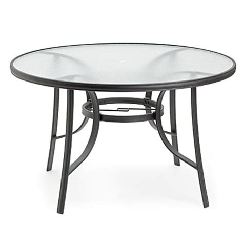 Wilson Fisher Patio Table by View Wilson Fisher 174 48 Quot Glass Dining Table Deals