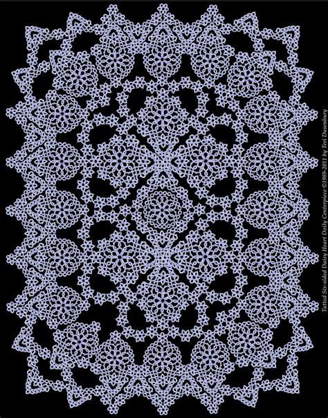 tatted lace designed  teri dusenbury lace tatting
