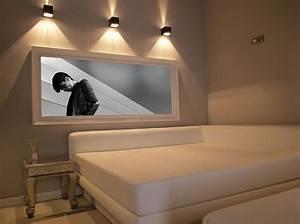 Wandlampen Für Schlafzimmer : das schlafzimmer minimalistisch einrichten 50 schlafzimmer ideen ~ Markanthonyermac.com Haus und Dekorationen