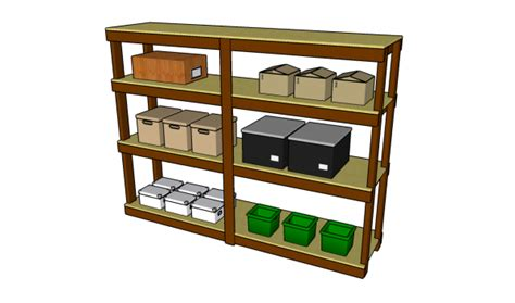 garage shelving plans myoutdoorplans  woodworking plans  projects diy shed wooden