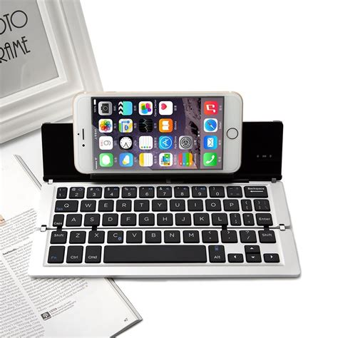 bluetooth keyboard for iphone foldable bluetooth keyboard stand for iphone android