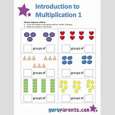 Introduction To Multiplication  Guruparents Math