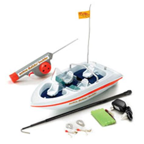 Remote Control Boat Fishing Buddy by Try Fishing Via A Remote Control Boat Gadgetking