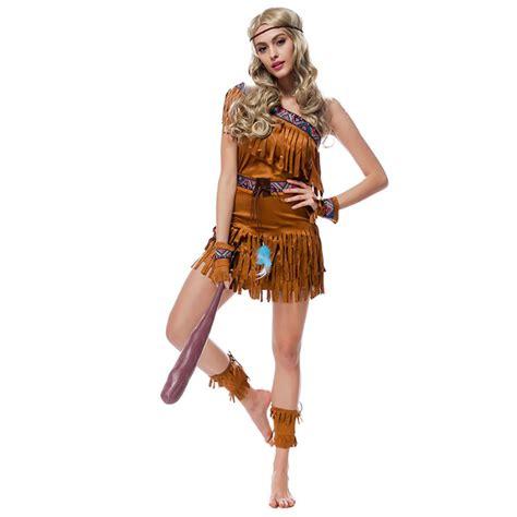 Compra trajes de indio americano online al por mayor de