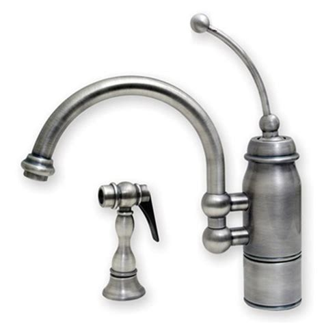 Traditional Kitchen Faucets For A French Country Kitchen