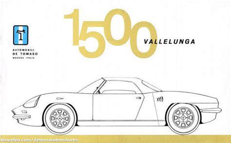 De Tomaso Vallelunga Prototyp '1963