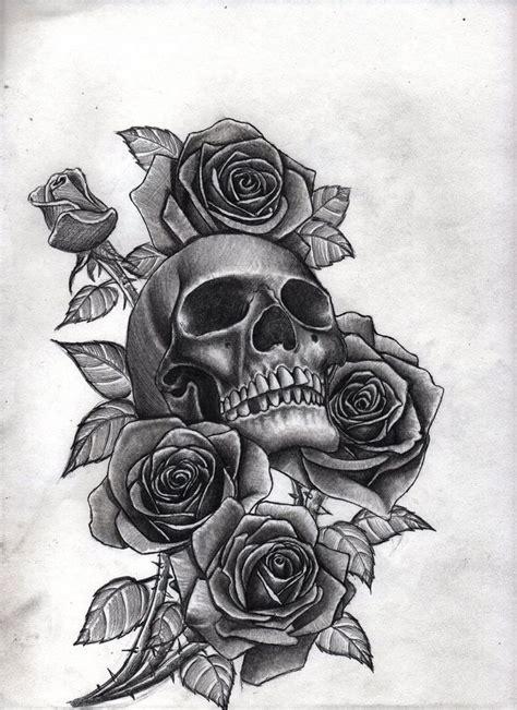 ideas  skull tattoos  pinterest skull thigh tattoos tattoo sleves  smoke