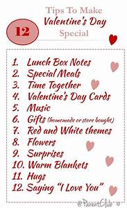 Tips For Making Valentine's Day Special