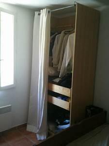 Dressing Rideau Ikea : photo penderie rideau ~ Dallasstarsshop.com Idées de Décoration
