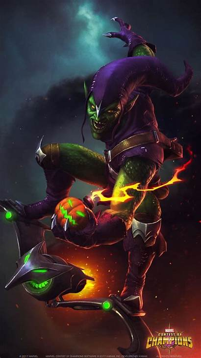 Goblin Marvel Champions Contest Spider Spiderman Wallpapers