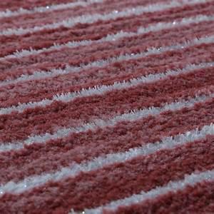 Tapis Salon Poil Ras : tapis salon moderne fil scintillant ray lignes poils ras chin rose tous les produits ~ Teatrodelosmanantiales.com Idées de Décoration